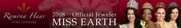 Official Jeweler of Miss Earth 2008